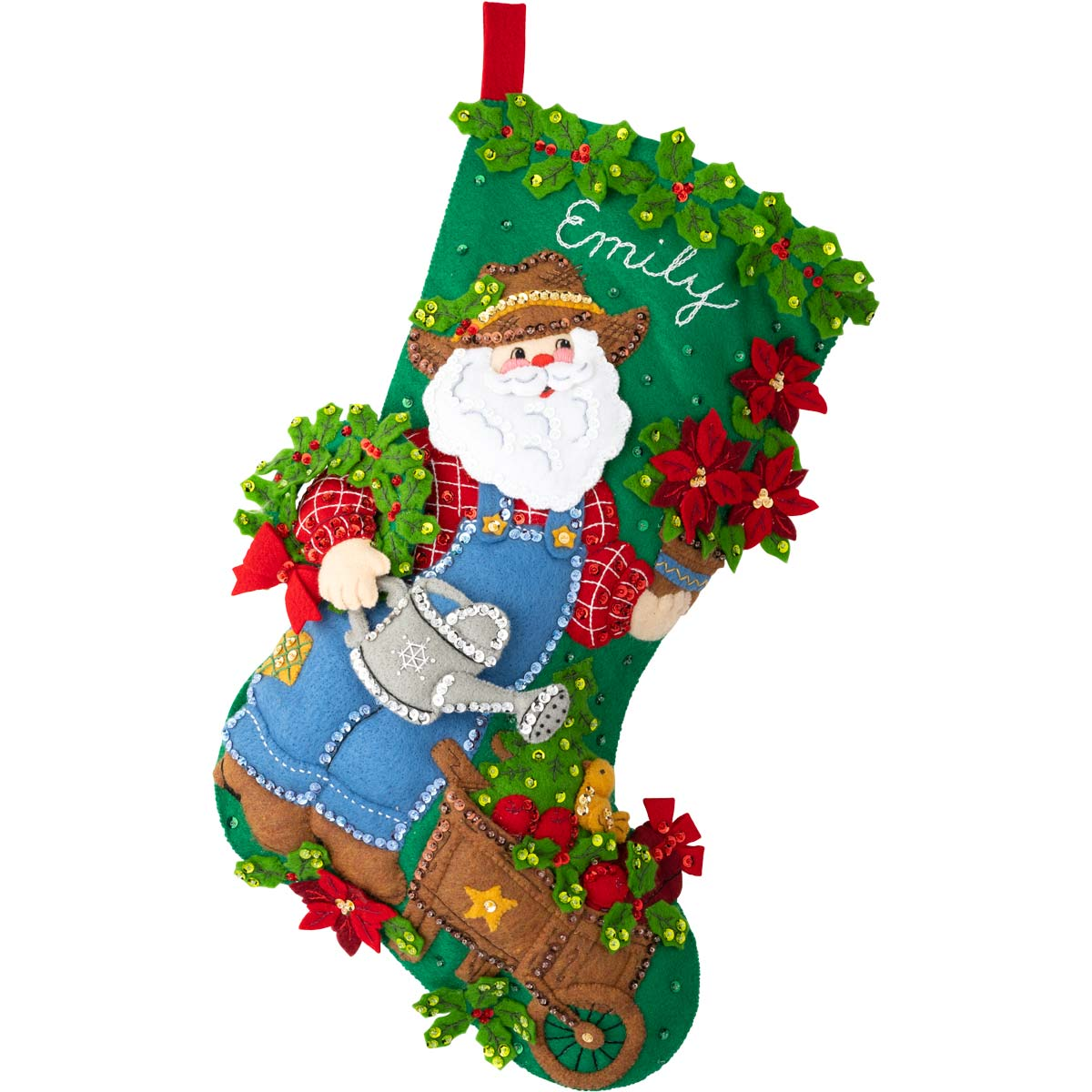Bucilla ® Seasonal - Felt - Stocking Kits - In The Garden - 89334E