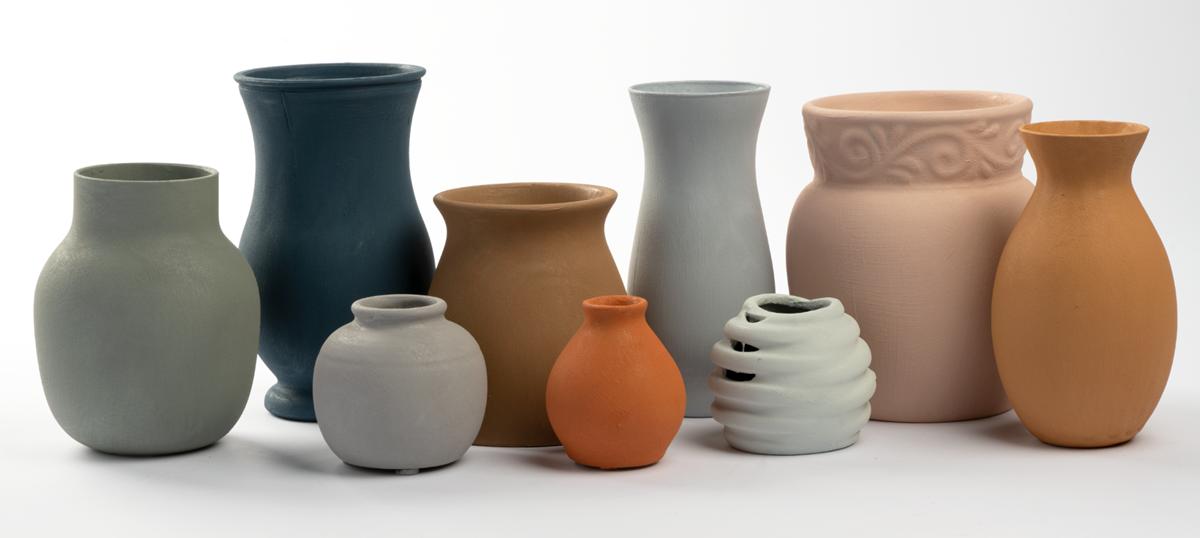 DIY Terra Cotta Vases