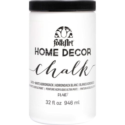 FolkArt ® Home Decor™ Chalk - White Adirondack, 32 oz. - 34878