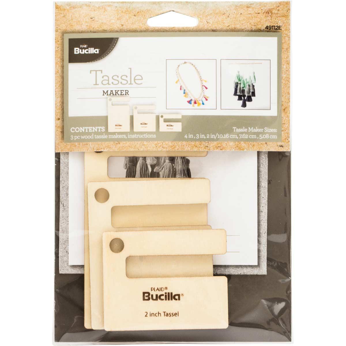 Bucilla ® Tassel Maker 3 pc. - 49112