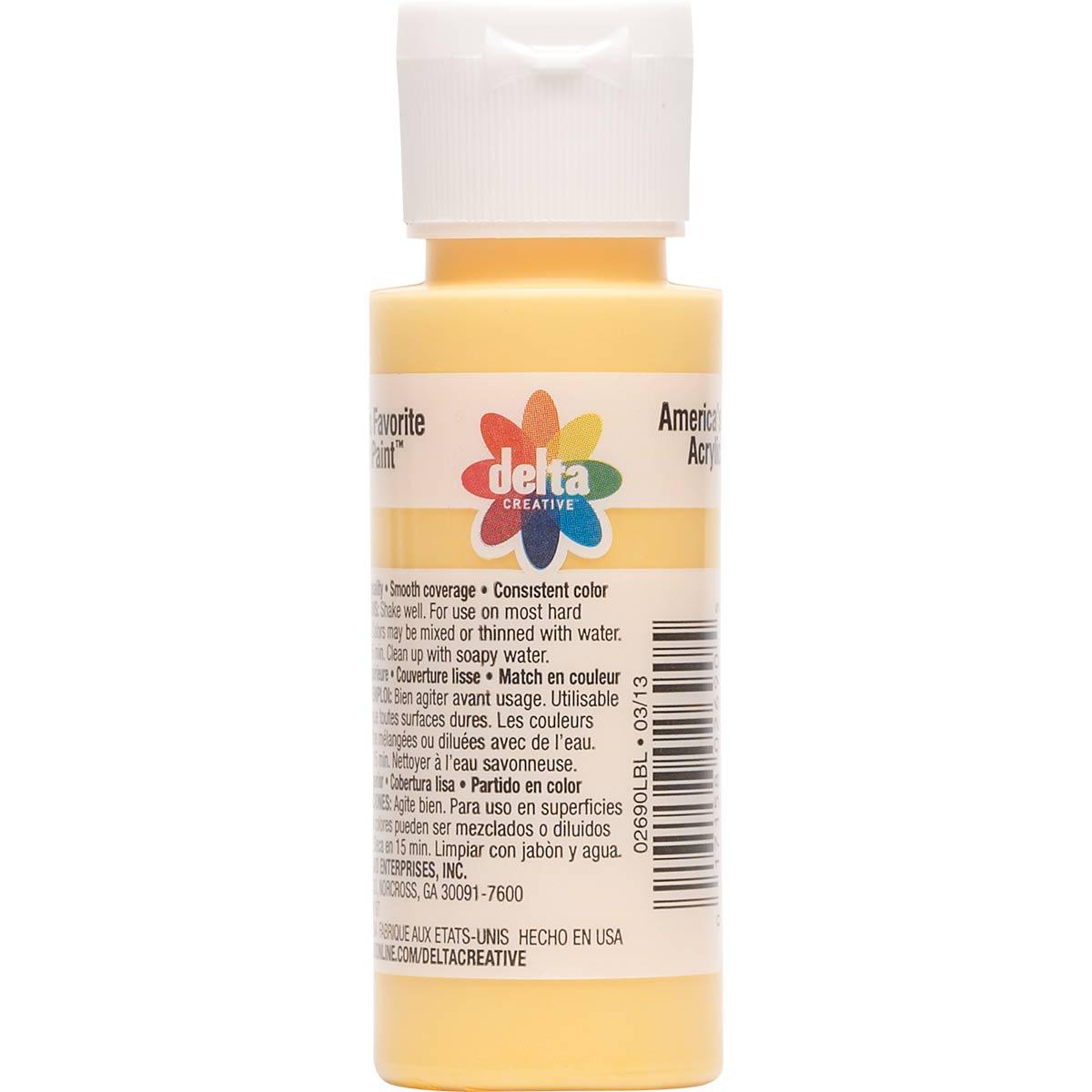 Delta Ceramcoat ® Acrylic Paint - Cantaloupe, 2 oz. - 02690