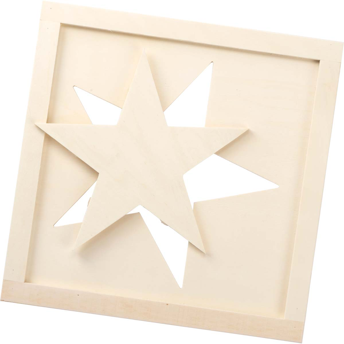 Plaid ® Wood Surfaces - 2-in-1 Star Wall Hanging - 56708