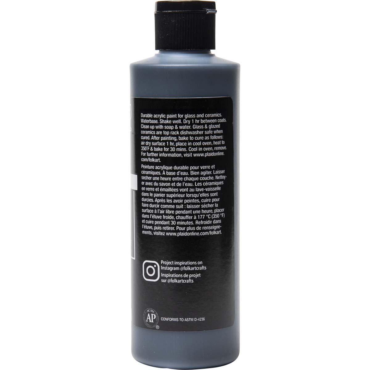 FolkArt ® Enamels™ - Licorice, 8 oz.