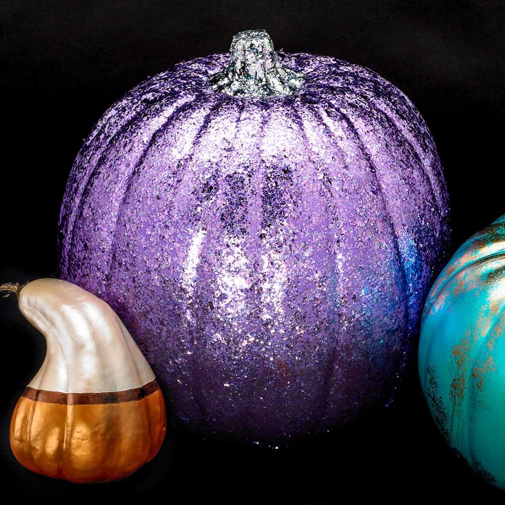 Dazzling Purple Pumpkin