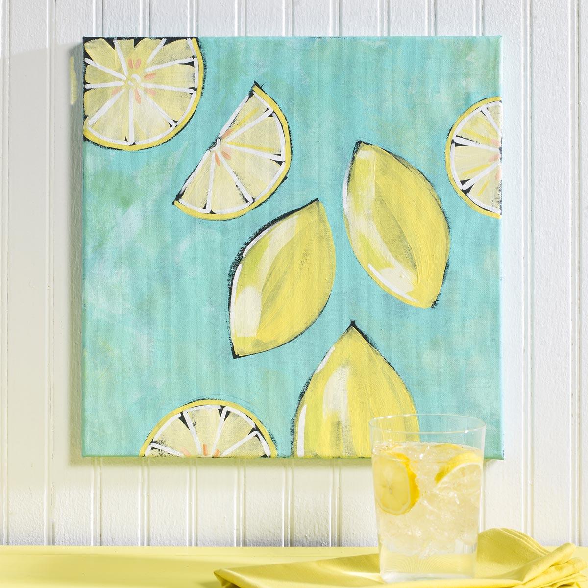 Lemon Canvas