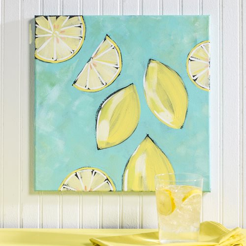 Lemon Canvas