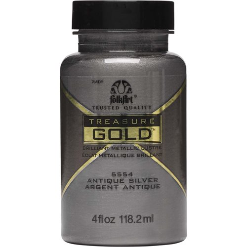 FolkArt ® Treasure Gold™ - Antique Silver, 4 oz. - 5554
