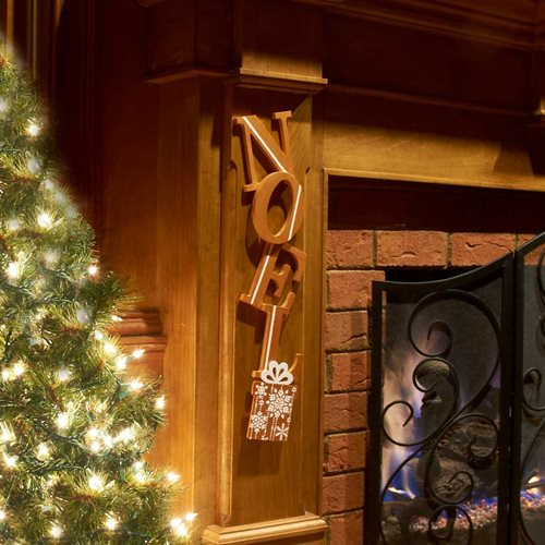 """Noel"" Holiday Wall Decor"