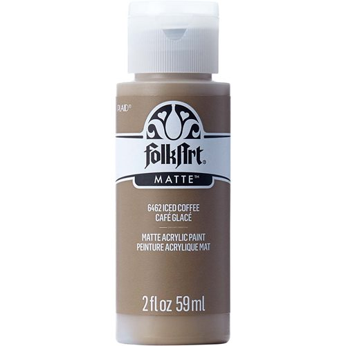 FolkArt ® Acrylic Colors - Iced Coffee, 2 oz.