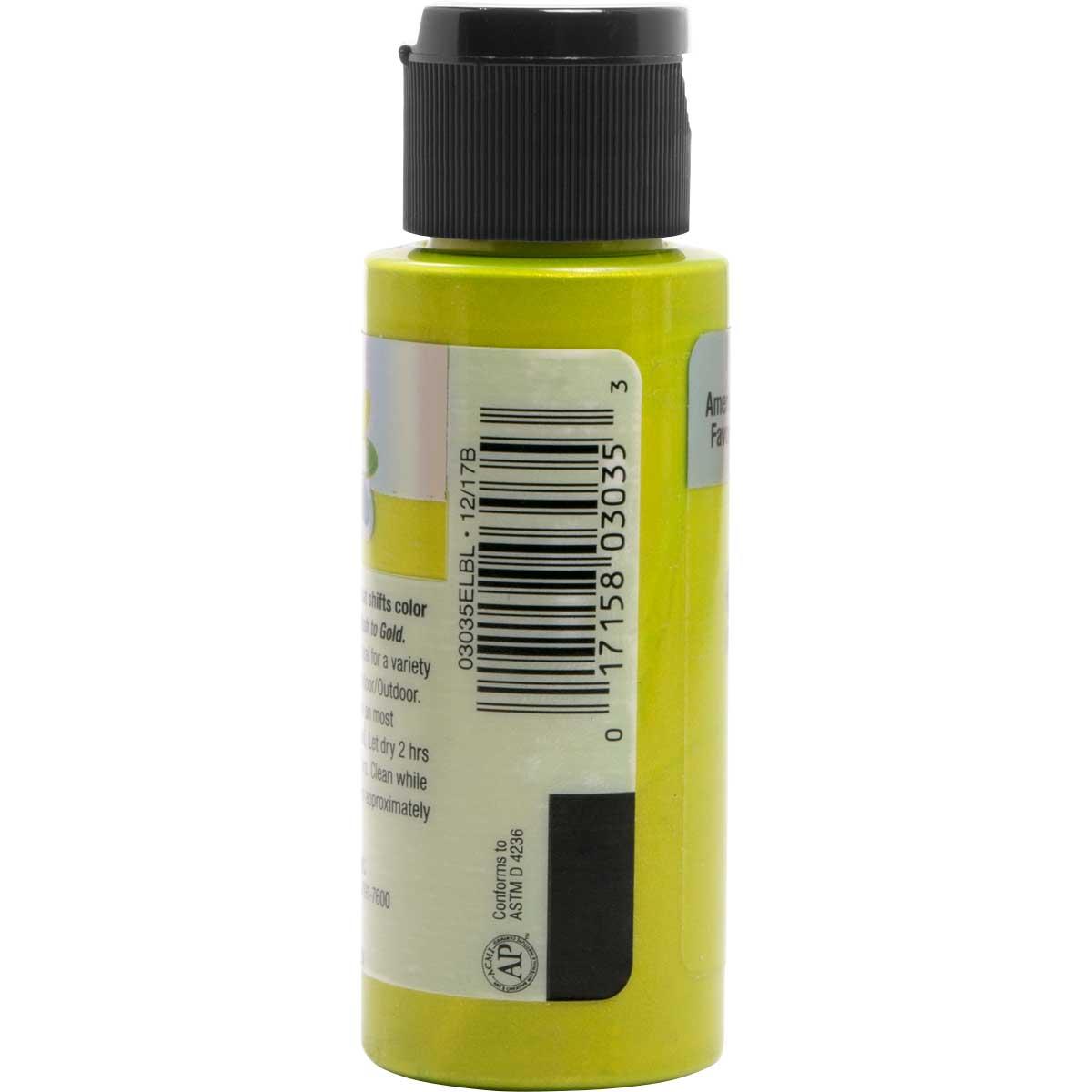 Delta Ceramcoat ® Acrylic Paint - Flash Metallic Green, 2 oz. - 03035