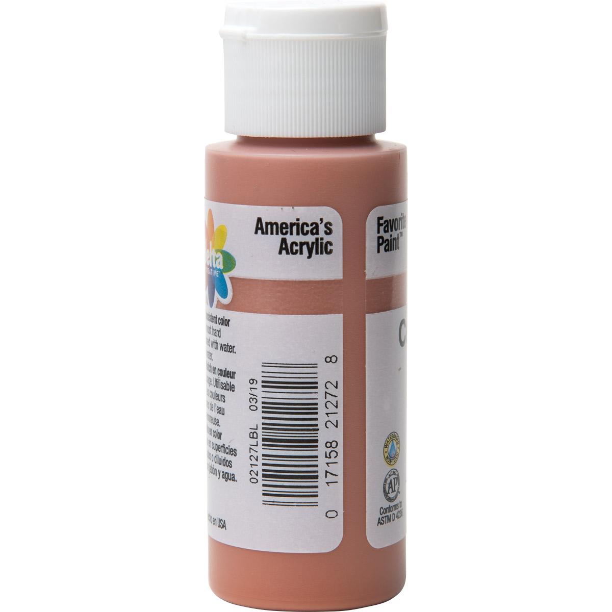 Delta Ceramcoat ® Acrylic Paint - Tawny, 2 oz. - 021270202W
