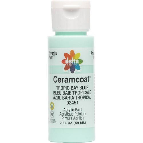 Delta Ceramcoat ® Acrylic Paint - Tropic Bay Blue, 2 oz. - 024510202W