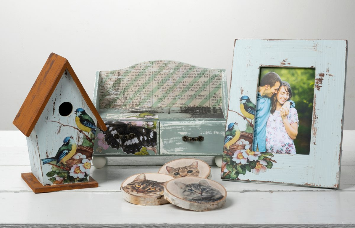 Mod Podge Clear Image Transfer Gift Ideas