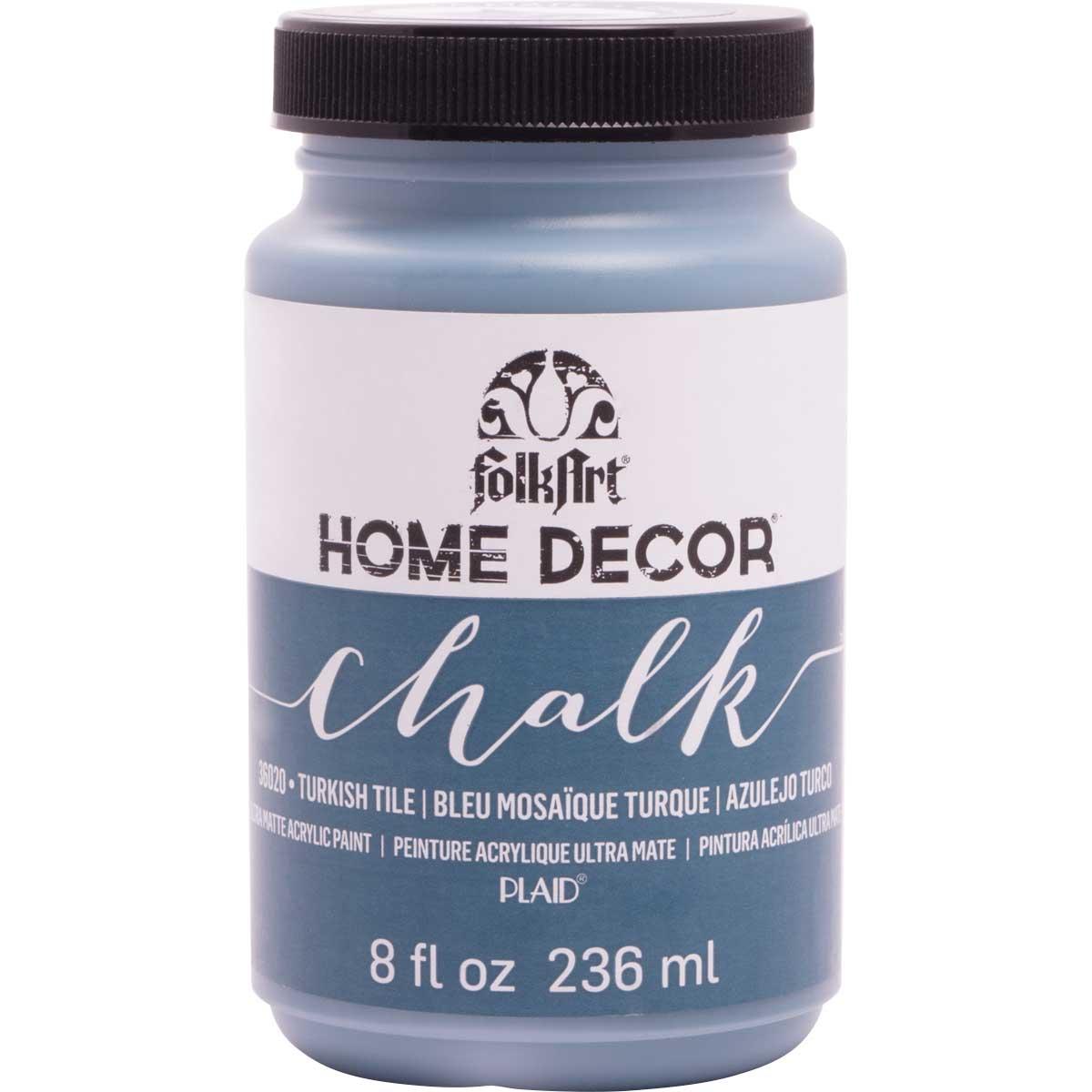 FolkArt ® Home Decor™ Chalk - Turkish Tile, 8 oz.
