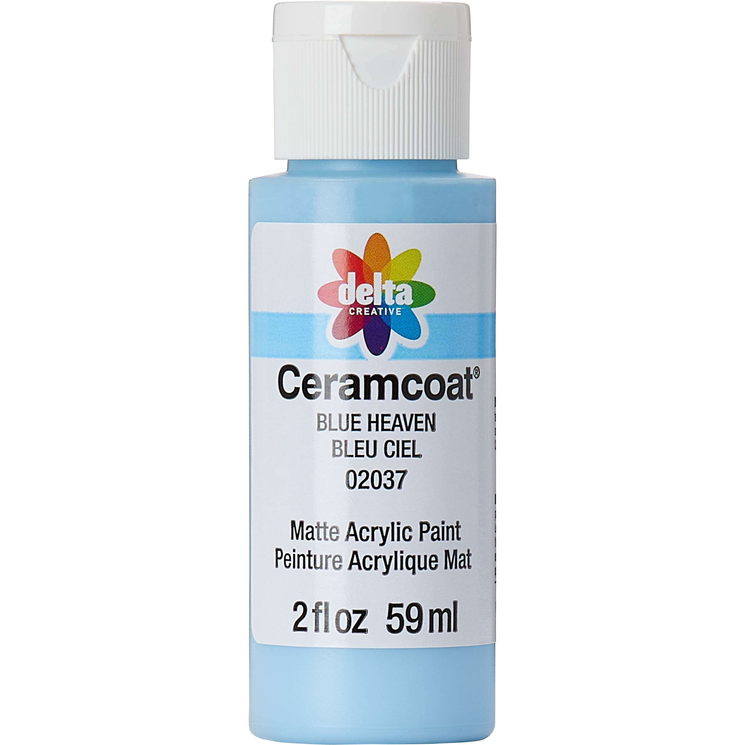 Delta Ceramcoat ® Acrylic Paint - Blue Heaven, 2 oz. - 020370202W