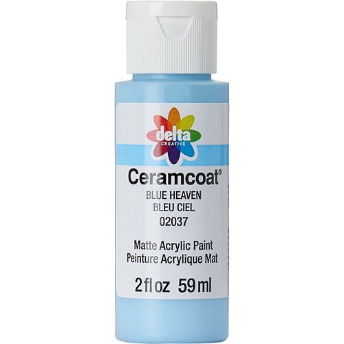 Delta Ceramcoat ® Acrylic Paint - Blue Heaven, 2 oz.