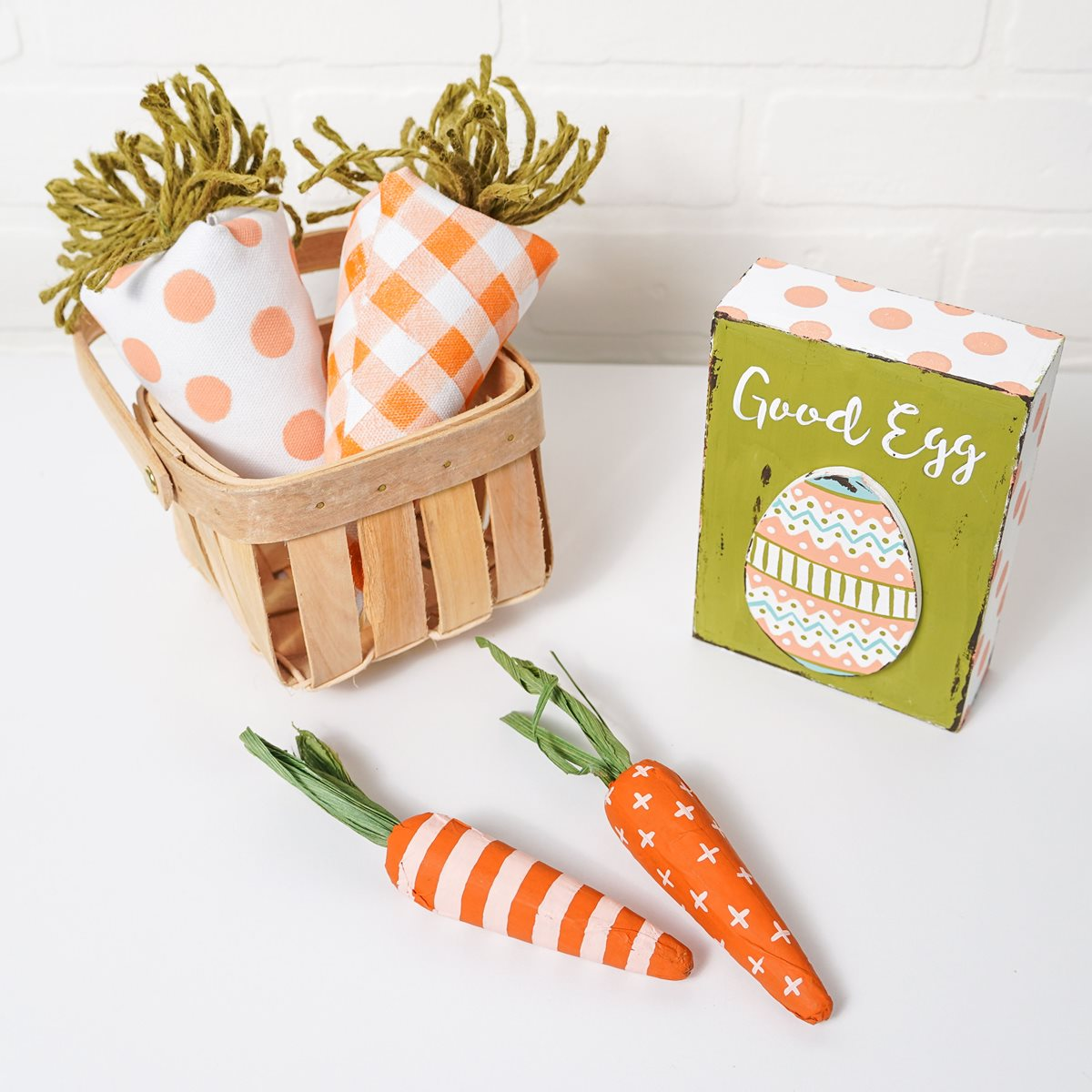 Patterned Stuffed Carrots