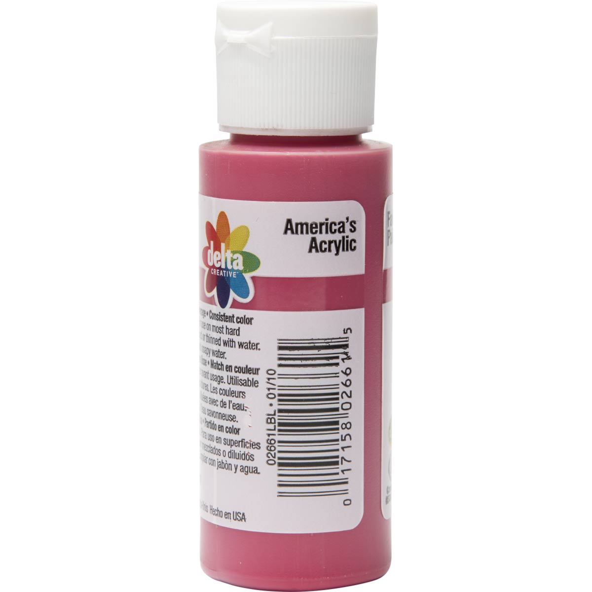 Delta Ceramcoat ® Acrylic Paint - Red, 2 oz. - 026610202W