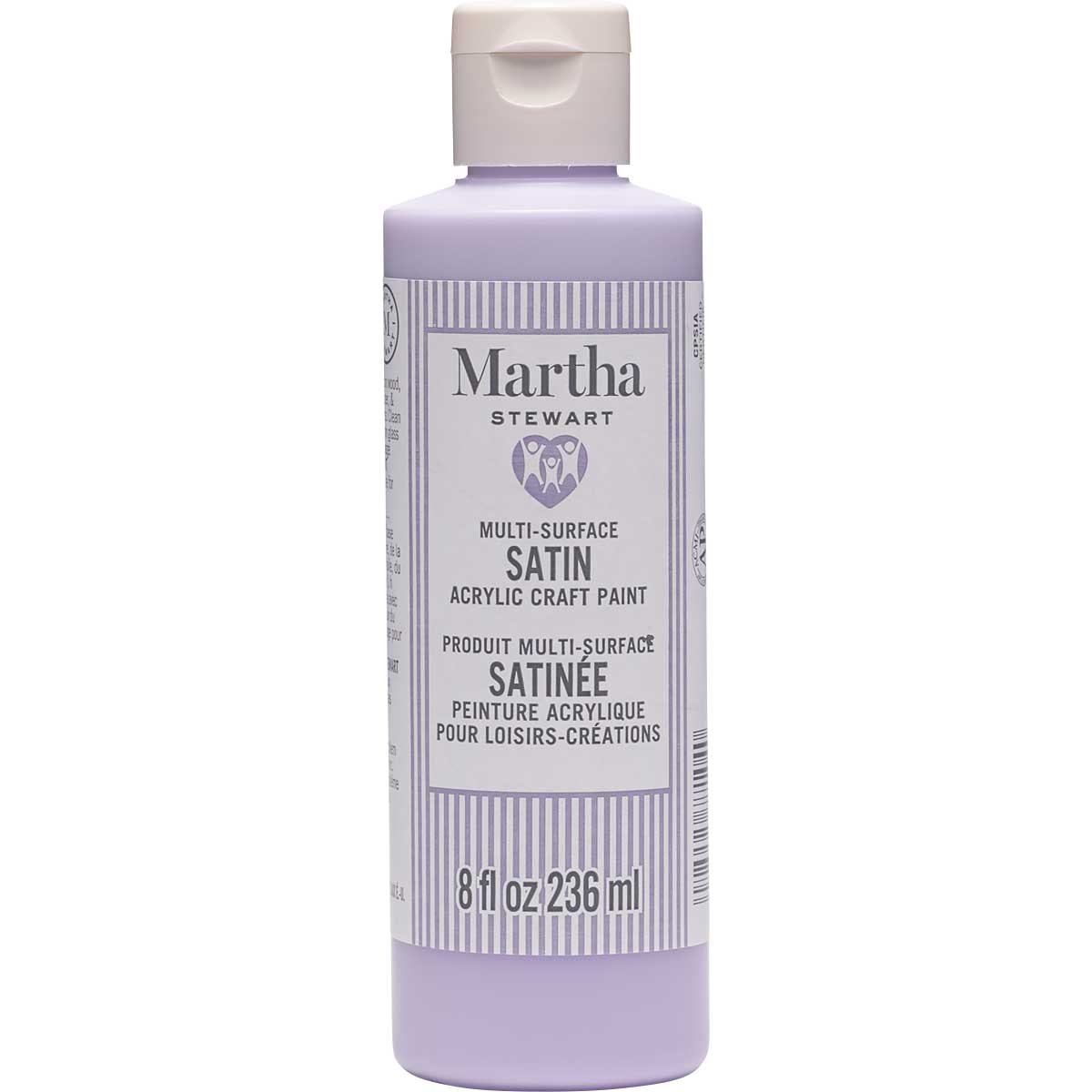Martha Stewart® 8oz Multi-Surface Satin Acrylic Craft Paint - Amethyst