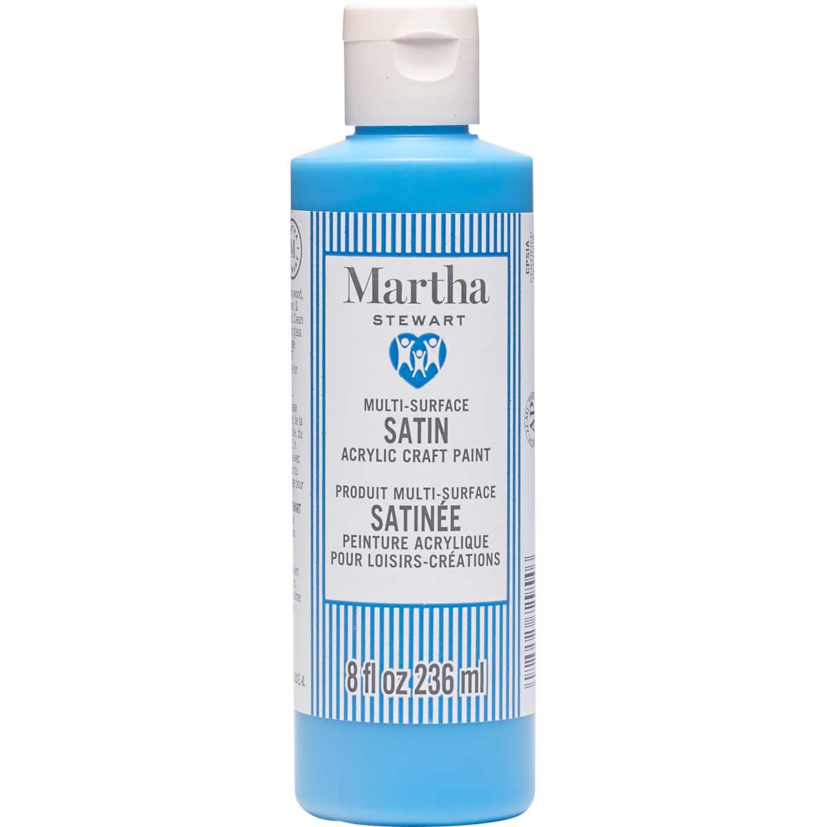 Martha Stewart® 8oz Multi-Surface Satin Acrylic Craft Paint - Fish Tank Blue