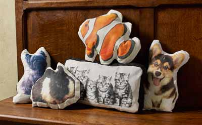DIY Mod Podge Photo Transfer Pet Pillows