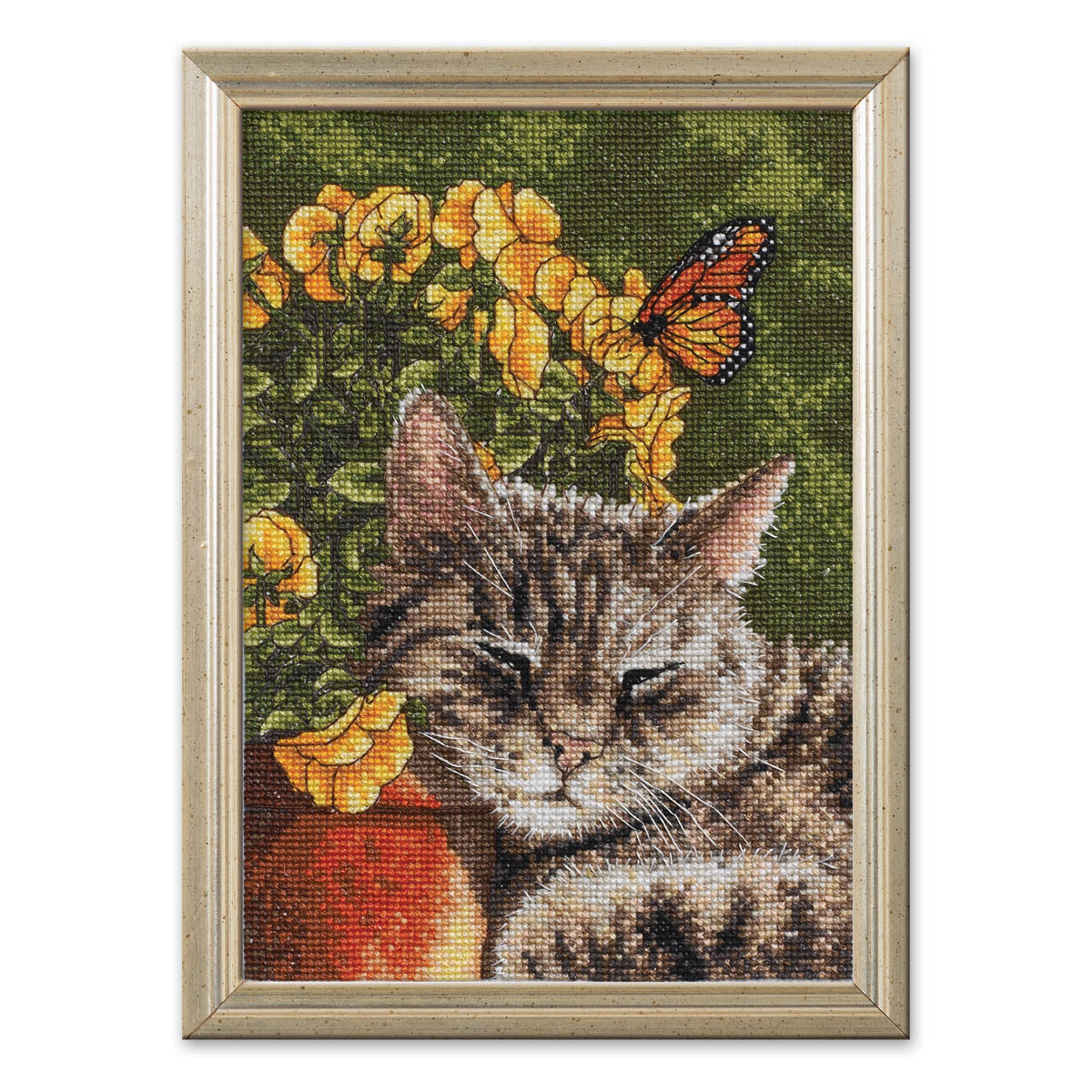 Bucilla ® Counted Cross Stitch - Picture Kits - Mini - Afternoon Nap - WM45700