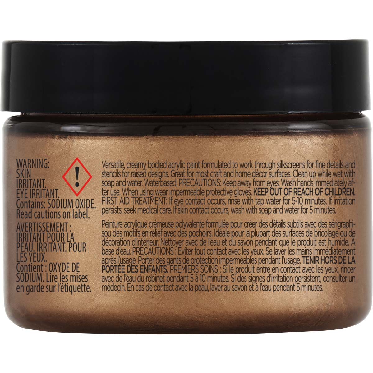 FolkArt ® Design Creme™ - Copper, 3 oz. - 34941