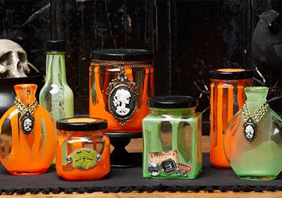 Halloween Potion Jars
