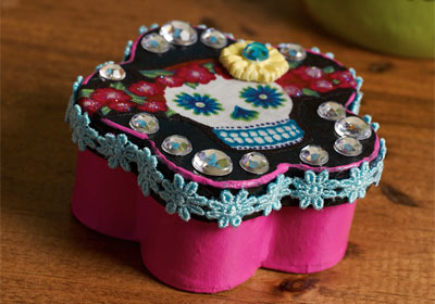 Day of the Dead Party Favor Box