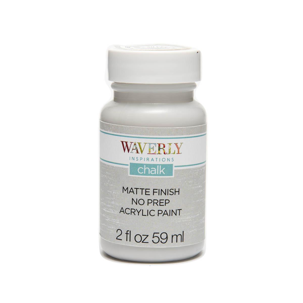 Waverly ® Inspirations Chalk Finish Acrylic Paint - Silver Lining, 2 oz.