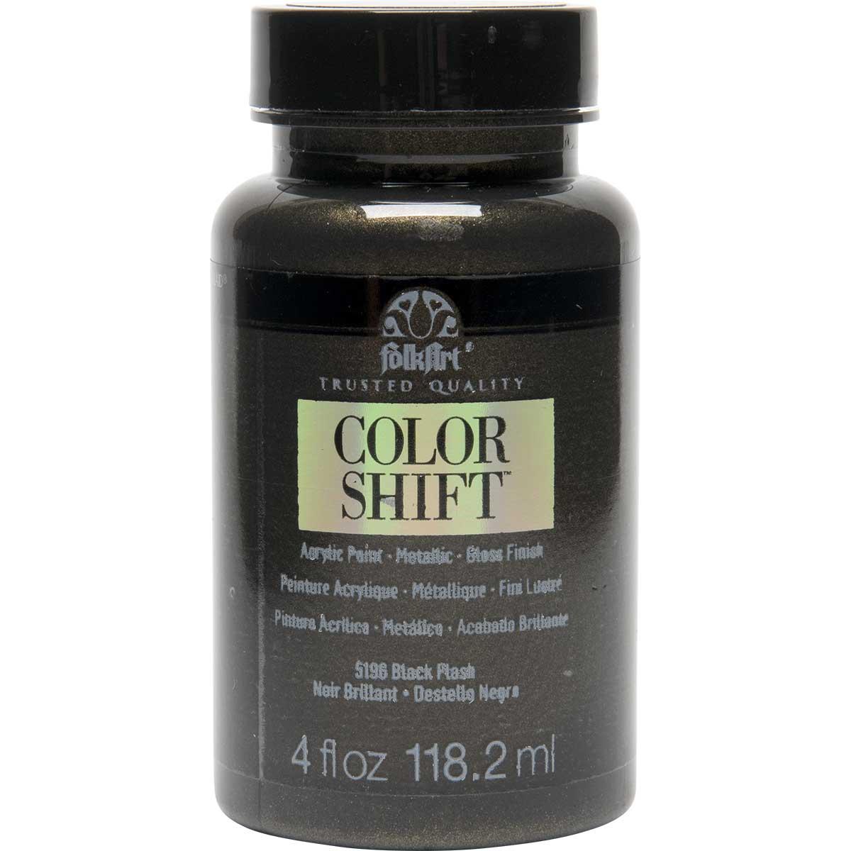 FolkArt ® Color Shift™ Acrylic Paint - Black Flash, 4 oz.