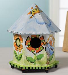Plaid ® Wood Surfaces - Birdhouse, Gazebo