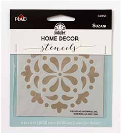 FolkArt ® Home Decor™ Stencils - Suzani - 34956
