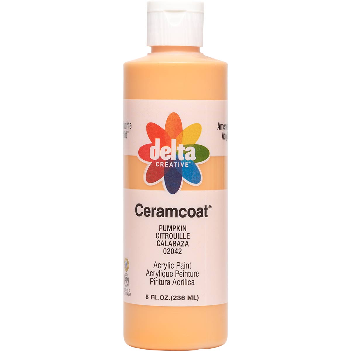 Delta Ceramcoat ® Acrylic Paint - Pumpkin, 8 oz. - 020420802W