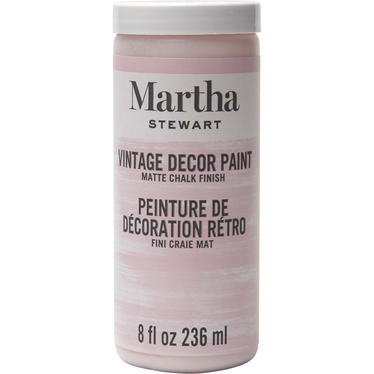 Martha Stewart ® Vintage Decor Matte Chalk Acrylic Paint - Seashell, 8 oz.