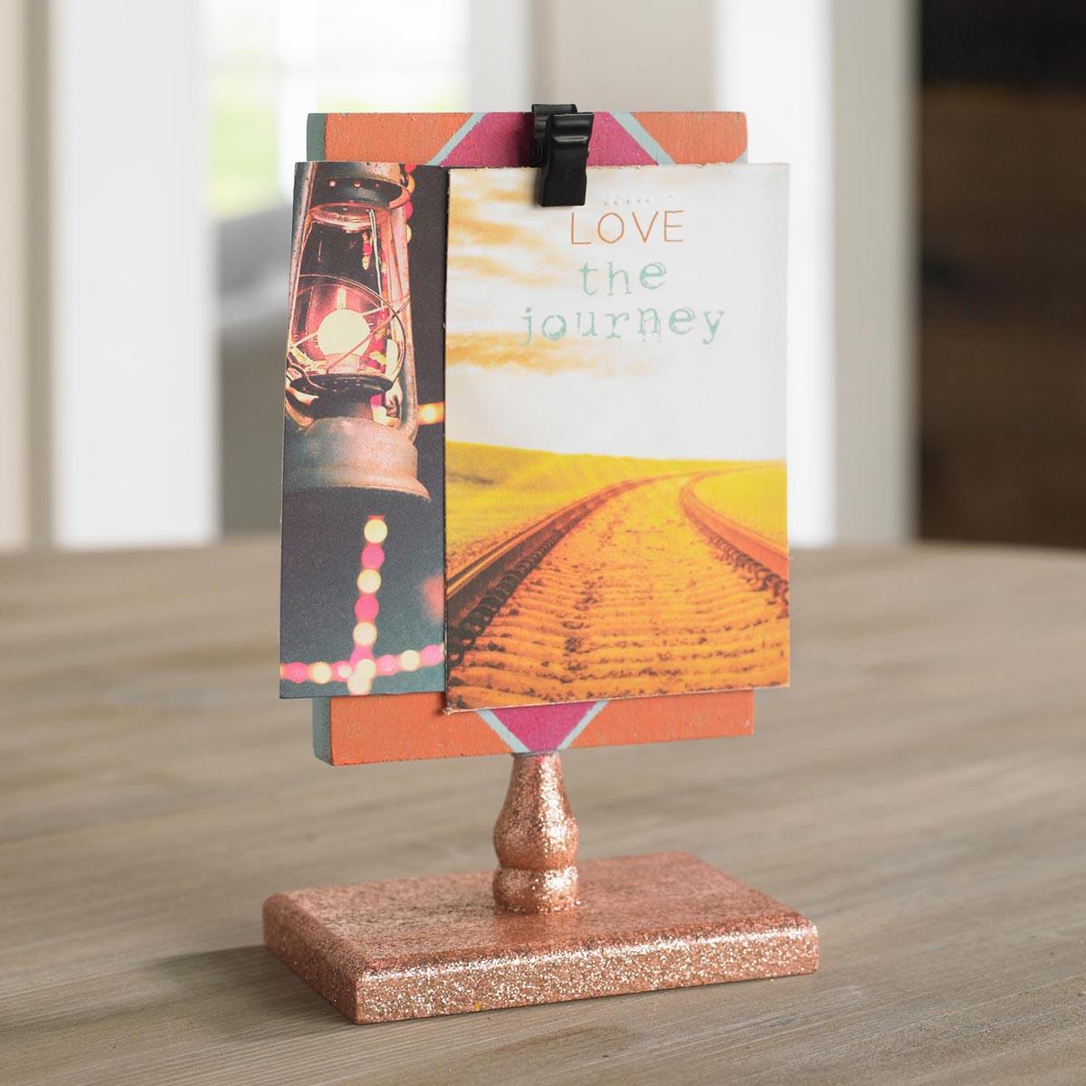 Triangle Mini Picture Stand