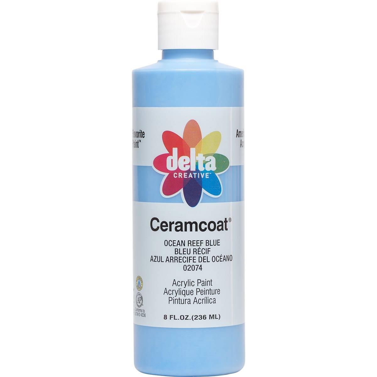 Delta Ceramcoat ® Acrylic Paint - Ocean Reef Blue, 8 oz.