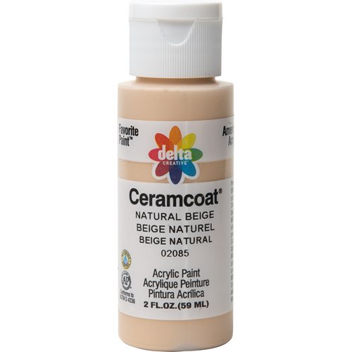 Delta Ceramcoat ® Acrylic Paint - Natural Beige, 2 oz. - 020850202W