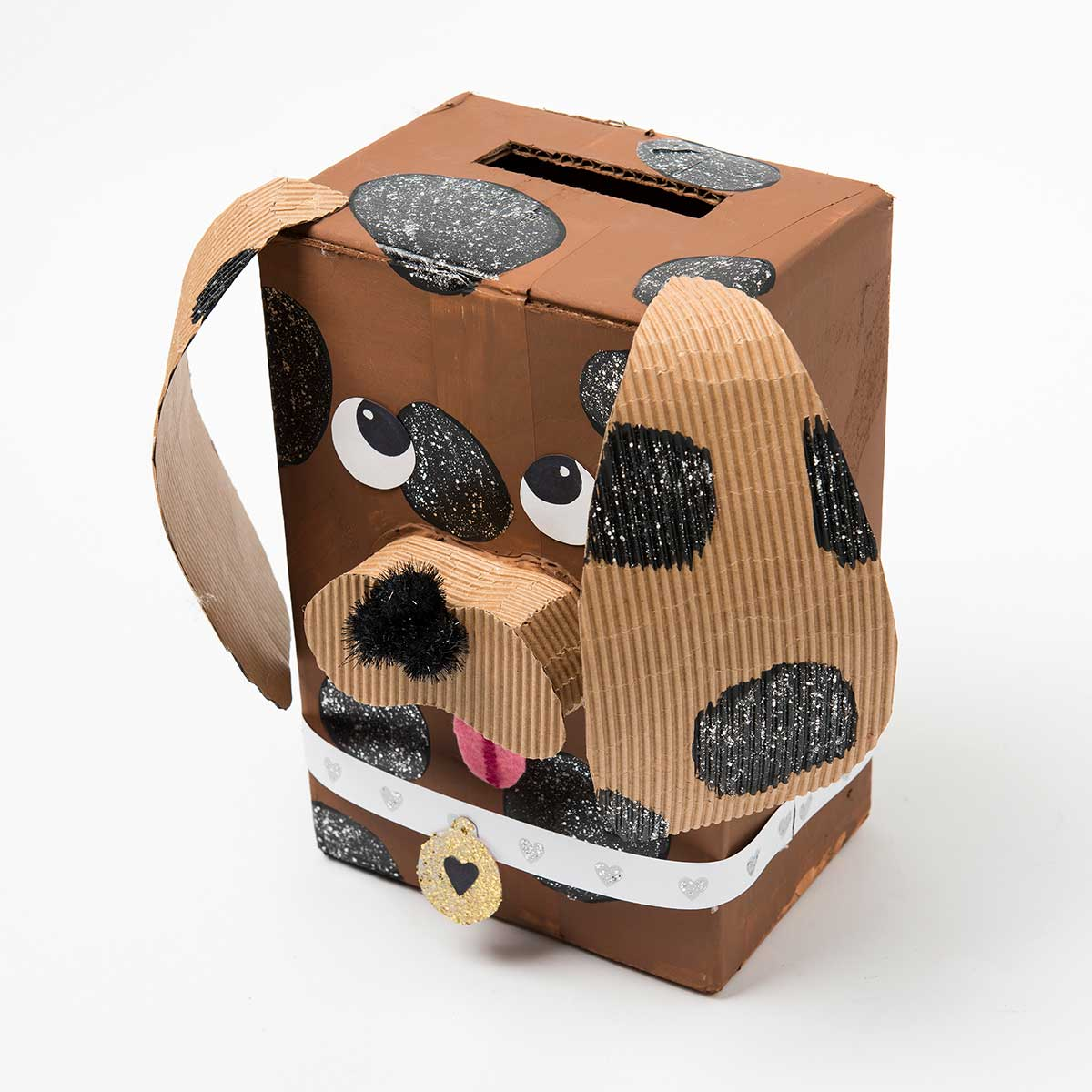 DIY Valentine Box - Puppy