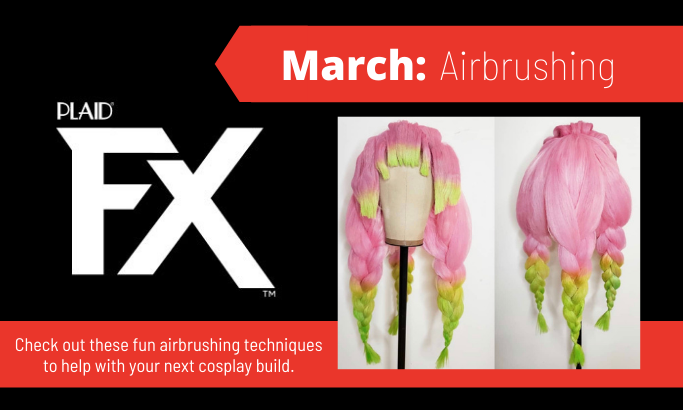 PlaidFX March 2021 - Airbrushing