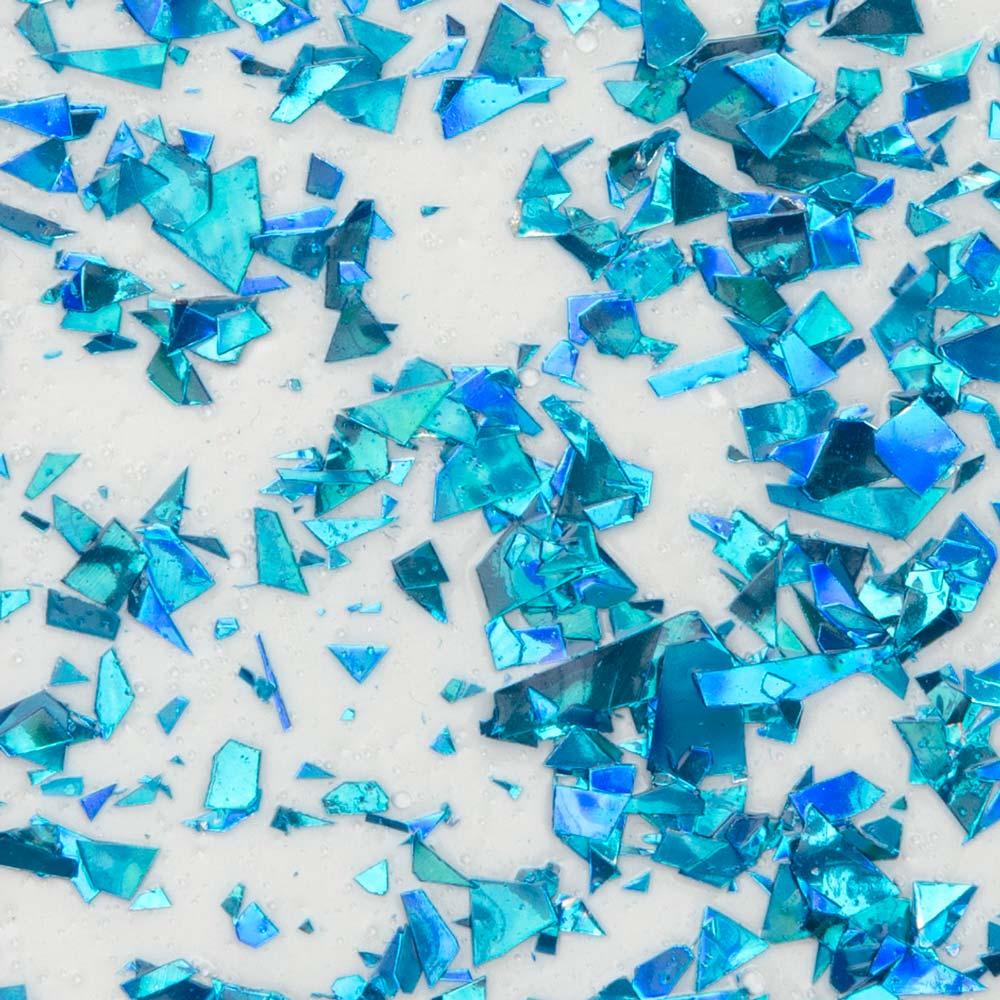 Martha Stewart ® Multi-Surface Vintage Leaf Glitter Acrylic Craft Paint CPSIA - Blue Raspberry, 2 oz