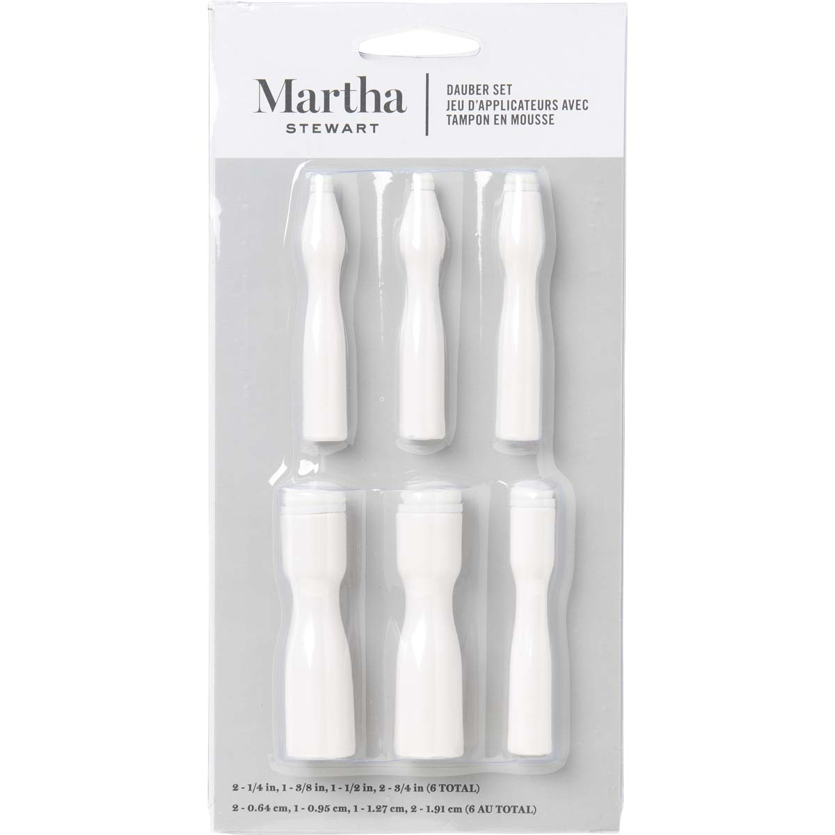 Martha Stewart ® Brush Sets - Dauber Set 6 pc. - 32946