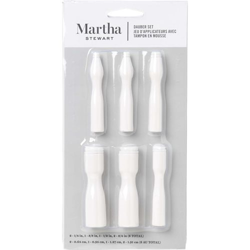 Martha Stewart ® Brush Sets - Dauber Set 6 pc.