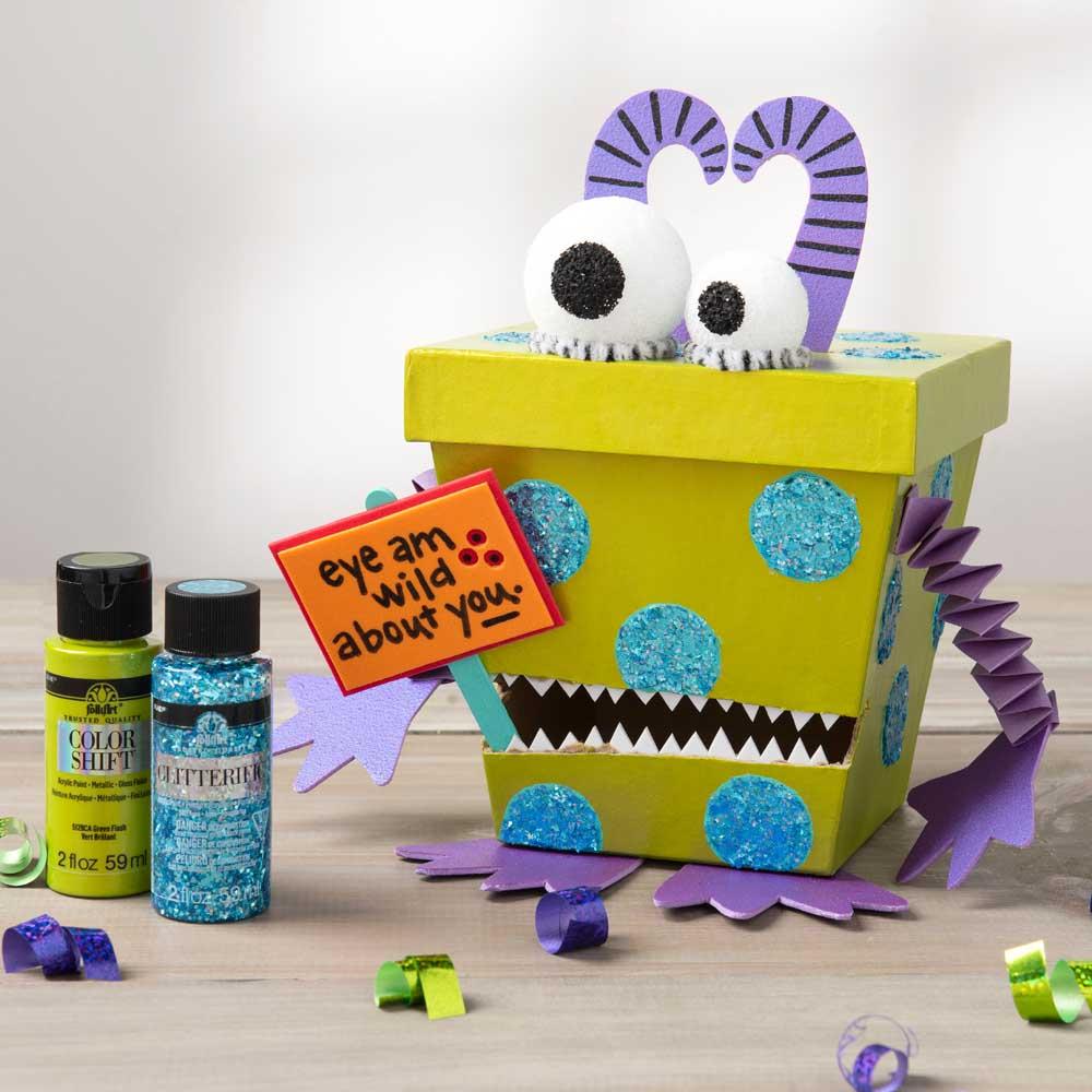 Monster Valentine's Day Box