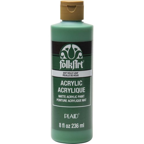 FolkArt ® Acrylic Colors - Holly Leaf, 8 oz. - 2327