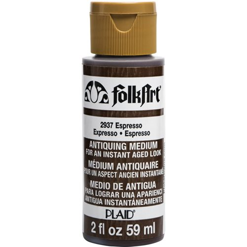FolkArt ® Mediums - Antiquing Medium - Espresso, 2 oz.