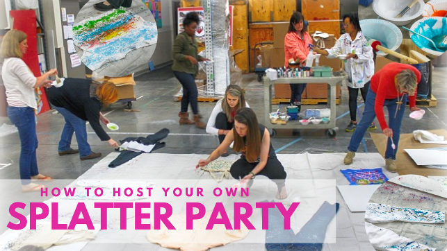 How to Host Your Own Splatter Party
