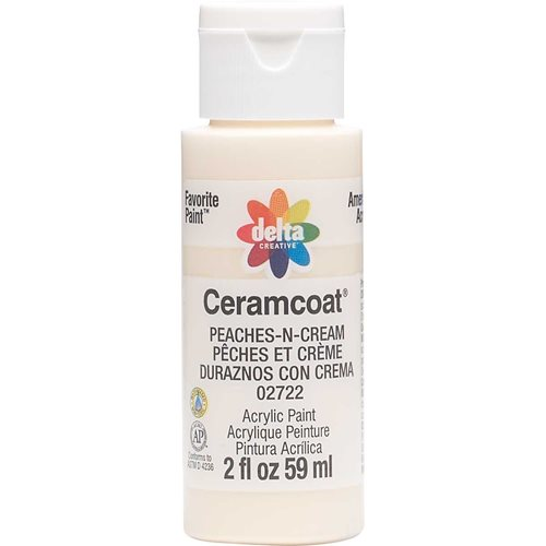 Delta Ceramcoat ® Acrylic Paint - Peaches-N-Cream, 2 oz.