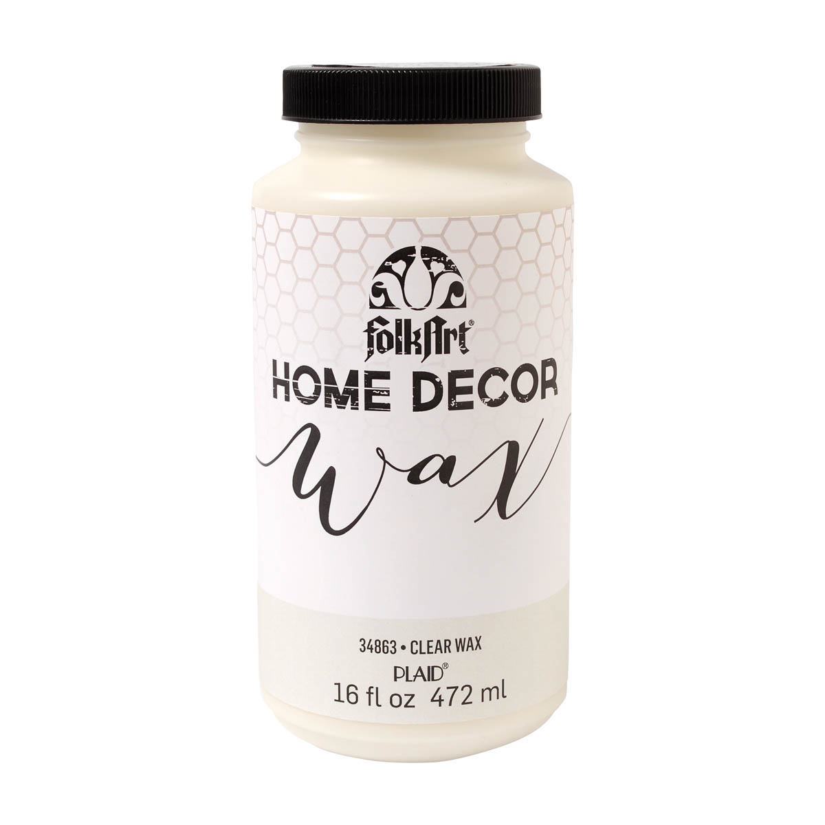 FolkArt ® Home Decor™ Wax - Clear, 16 oz. - 34863