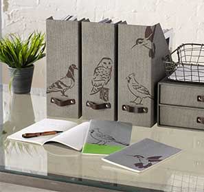 Funky Birds Magazine Holders